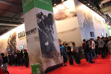 Stand Call of Duty - Paris Games Week 2014