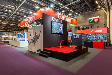 Stand Canon - Salon de la Photo 2017