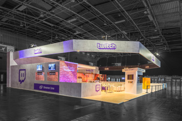 Stand Twitch - Paris Games Week 2017