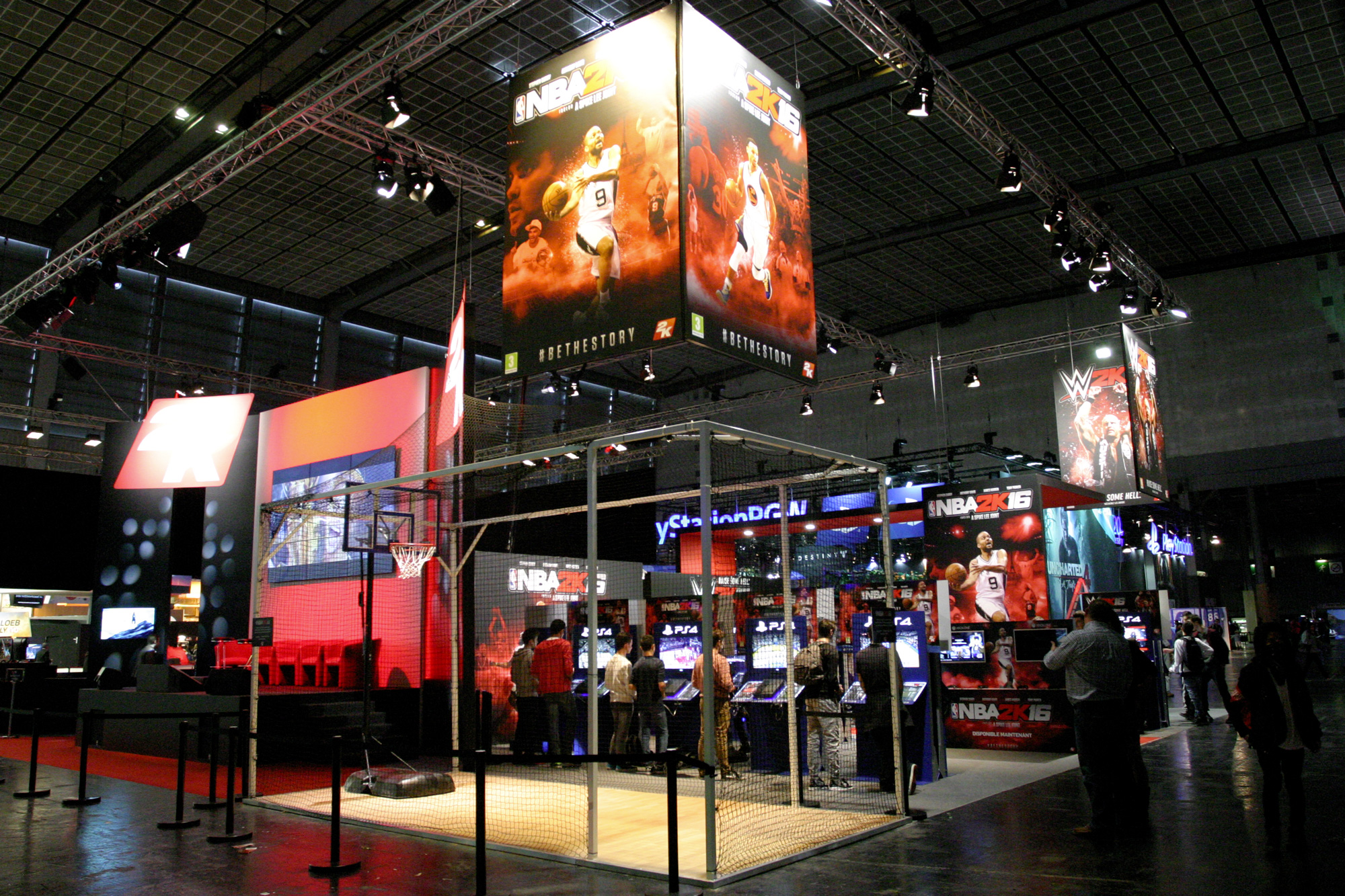 Stand 2K - Paris Games Week 2015