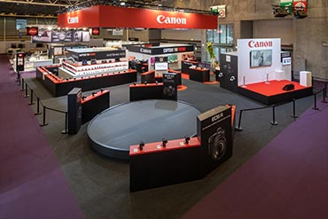 Stand Canon - Salon de la Photo 2018