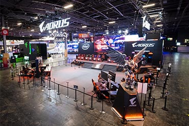 Stand Aorus - Paris Games Week 2018