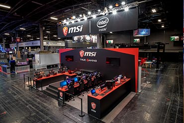 Stand MSI - Paris Games Week 2018