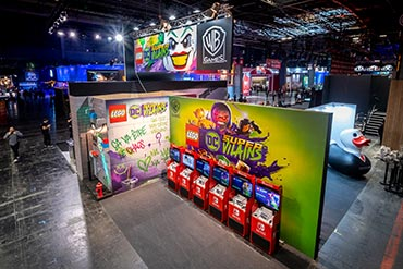 Stand Warner - Paris Games Week 2018