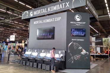 Stand Mortal Kombat - Japan Expo 2015