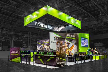Stand Nvidia - Paris Games Week 2016