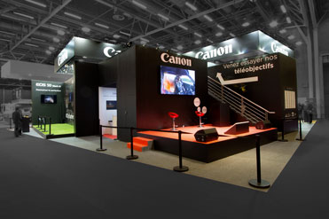 Stand Canon - Salon de la Photo 2016